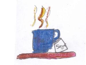 max blue teacup